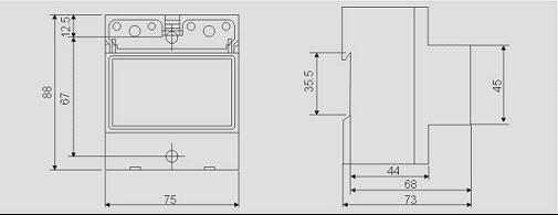 1. 相数:单相 2. 精确度: 1级 3. 显示类型:数字或LCD显示 4. 参比频率:50Hz 5. 起动:电能表在额定电压,额定频率及功率因数为1的条件下,当负载电流为0.004Ib时,工作指示灯应能闪亮。 6. 潜动: 具有防潜动逻辑电路 7. 功耗:电压电路 2.0W 10VA 电流电路 0.6VA 8. 环境条件:工作温度 -25 ~ +55 相对湿度 85% 主要功能: 1.