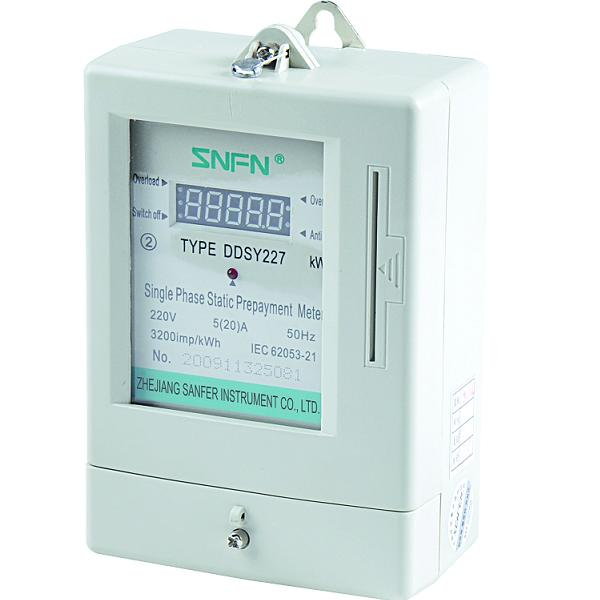 Prepayment Energy Meter LCD Single Phase Meter (DDSY34)